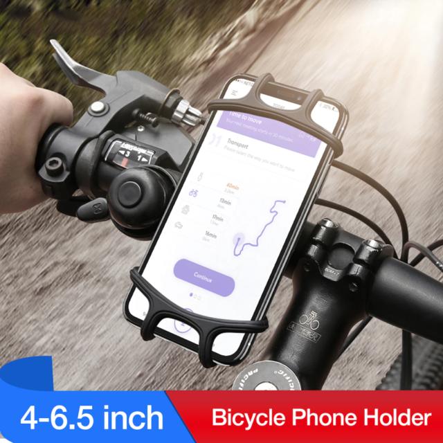 Universal Motorcycle Phone Holder Bicycle Handlebar Mount Cell Phone Bracket