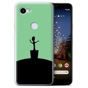 Gel-TPU-Case-for-Google-Pixel-3a-Minimalist-Movie-Art-Baby-Groot-Inspired