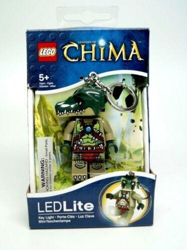 LEGO Legends of Chima Cragger Mini Figure Keyring LED Light Keychain Flashlight