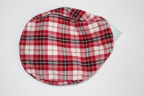 Gymboree Holiday Memories Hat Size 12-18 Months Newsboys Plaid NWT NEW