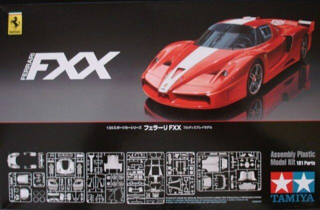 Tamiya 24292 1 24 Scale Super Sport Race Car Model Kit Ferrari FXX Red Edition