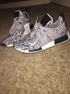 Adidas NMD XR1 PK Primeknit Oreo Black Grey White BY1910
