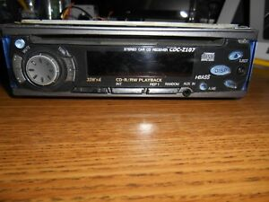 Details about Aiwa Car CD Player Stereo Receiver / CDC-Z10Y / 180w / CDR/RW  / Parts or Repair