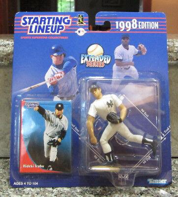 1998 Starting Lineup Hideki Irabu New York Yankees Action Figure