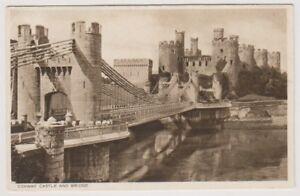 Galles-Cartolina-Conway-Castello-e-Ponte-A946