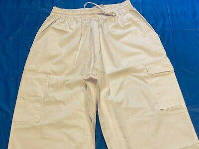 Adar Medical Uniforms Natural-Rise Multipocket Cargo Tapered Leg Pants Trousers