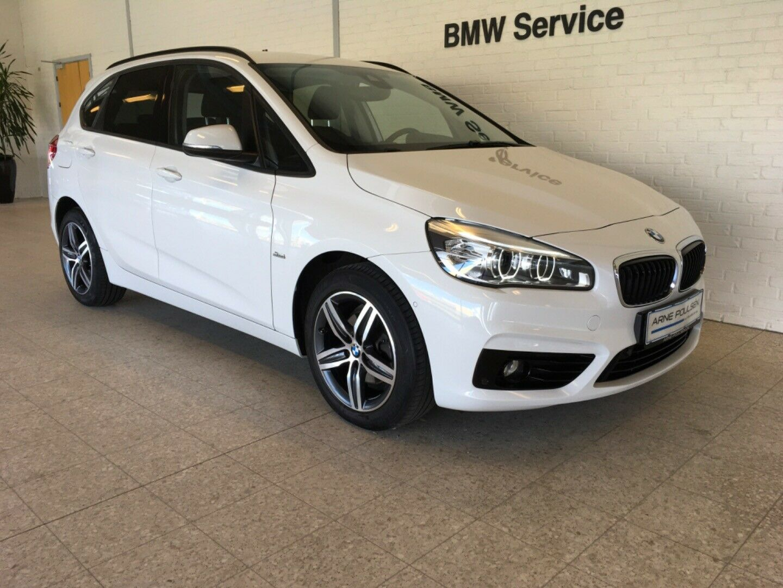 BMW 218d 2,0 Active Tourer Advantage aut. 5d - 265.000 kr.
