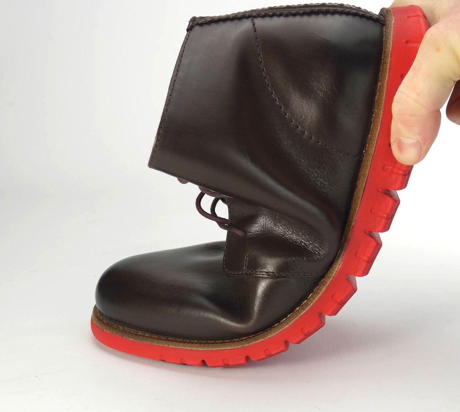 London Brogues Gatz Herren Freizeit Schuhe Chukka ultraleicht Stiefel braun Schuhe Freizeit 8e324d