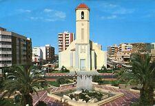Vieja postal-Guardamar-Plaza de la Constitution