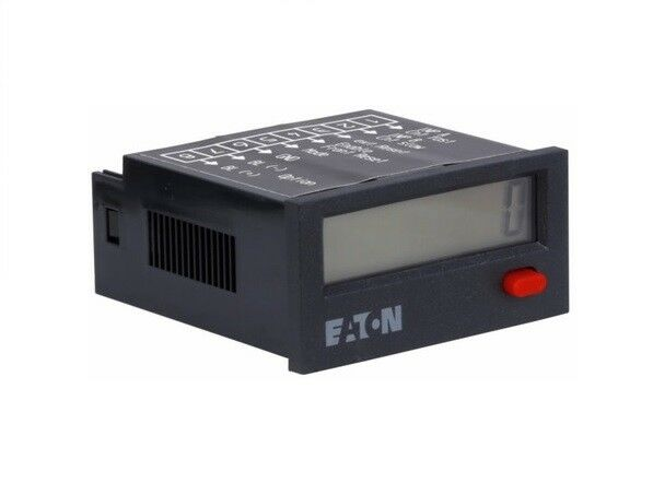 Eaton E5-024-C0400 Panel Meter Totalizer 8 Digit LCD 4 to 30VDC Input New