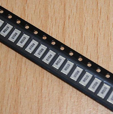 5x Stromsensor SMD-Widerstand 0,01 Ohm , 1 Watt , Current Sense Resistor