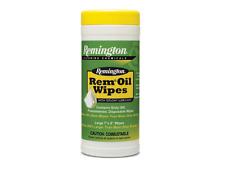 Remington 60 REM OIL WIPES TEFLON LUBRICANT Gun Care CLEANS LUBRICATES PROTECTS