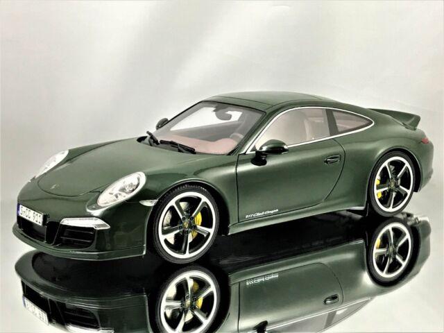 GT Spirit Porsche 911 (991) Carrera S Club Coupe Brewster Green Resin Model  1 d09ca94316