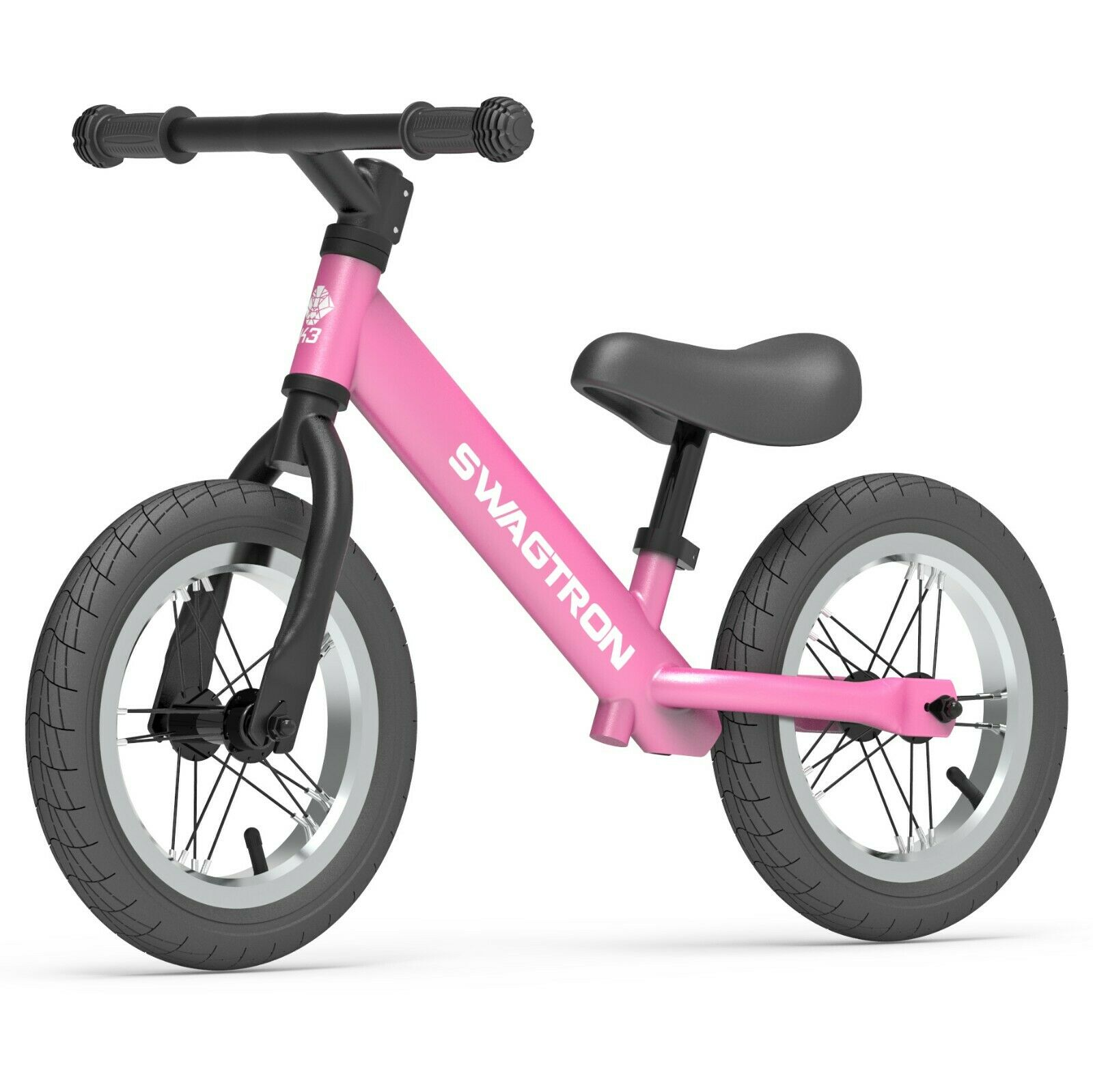 XJD Kids Balance Bike Training Bike Kids Bike No Pedal Lightest Aluminum Frame Adjustable Seat with Air Tires Kids First Bike Ages 1.5 to 6 Years