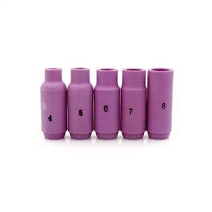 3/8 Alumina Ceramic Cup Nozzles 10 PACK #10N48 #6 FITS TIG Torch #'S 17/18/26