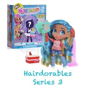 YOU PICK THE DOLL Ages 3 HAIRDORABLES Series 3 Big Hair Don't Care NEW SEALED