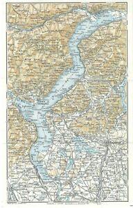 Lago Maggiore Cartina Stradale.Lago Maggiore Piemonte Carta Geografica Touring Club 1961 Ebay