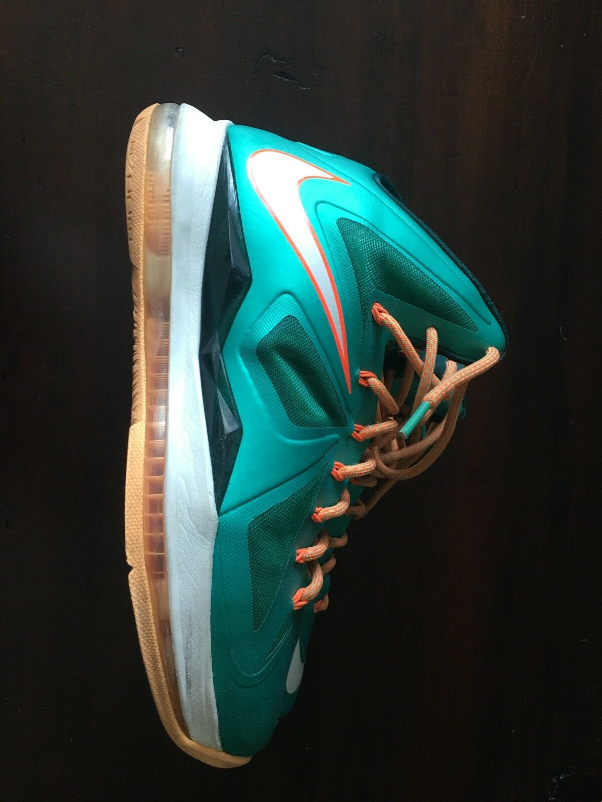 Nike Lebron James 10 Miami Dolphins Men's Size 9.5