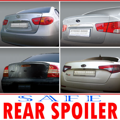 Rear Lip Spoiler PAINTED 1p For 06 07 08 09 10 11 Chevy Epica Tosca