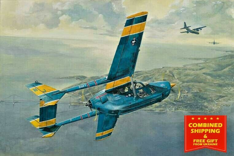 RODEN 632 - 1 32 - O-2A Skymaster U.S. Navy Service 1967-1970 Military airplane
