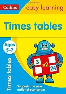 Times Tables Ages 5-7: New Edition (Collins Easy Learning KS1) by Collins Easy Learning (Paperback, 2015)