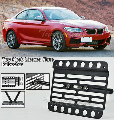 For 14-Up BMW F22 2-Series M235i w//o PDC Tow Hook License Plate Bracket