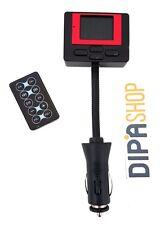 Lettore Trasmettitore Fm Mp3 Per Auto Presa Accendisigari Usb Scheda Sd Mmc hsb