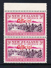 NEW ZEALAND 1940 3d WITH 'ff' JOINED SG O146a VARIETY MNH.