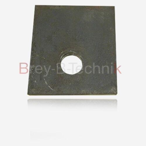Anschweißlaschen 1957 2 St Unter- 19mm Loch 119 Oberlenker-Laschen m