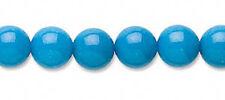 Turquoise Mountain Jade Gemstone Round Beads 8MM