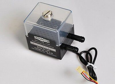 DC 12V Water Pump DC Brushless Pump Liquid Cooling System for PC CPU CO2 Laser