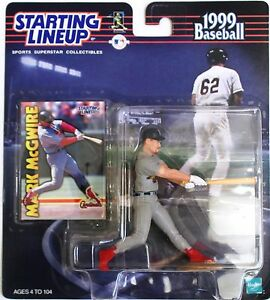 STARTING LINEUP 1999 MLB MARK MCGWIRE WITH CARD ST LOUIS CARDINALS