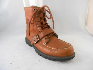 5 Lauren Details Leather Hi Size Us Ralph About 38 Eu Brown Polo Boots Conquest 5 Ii Youth dCBxeo