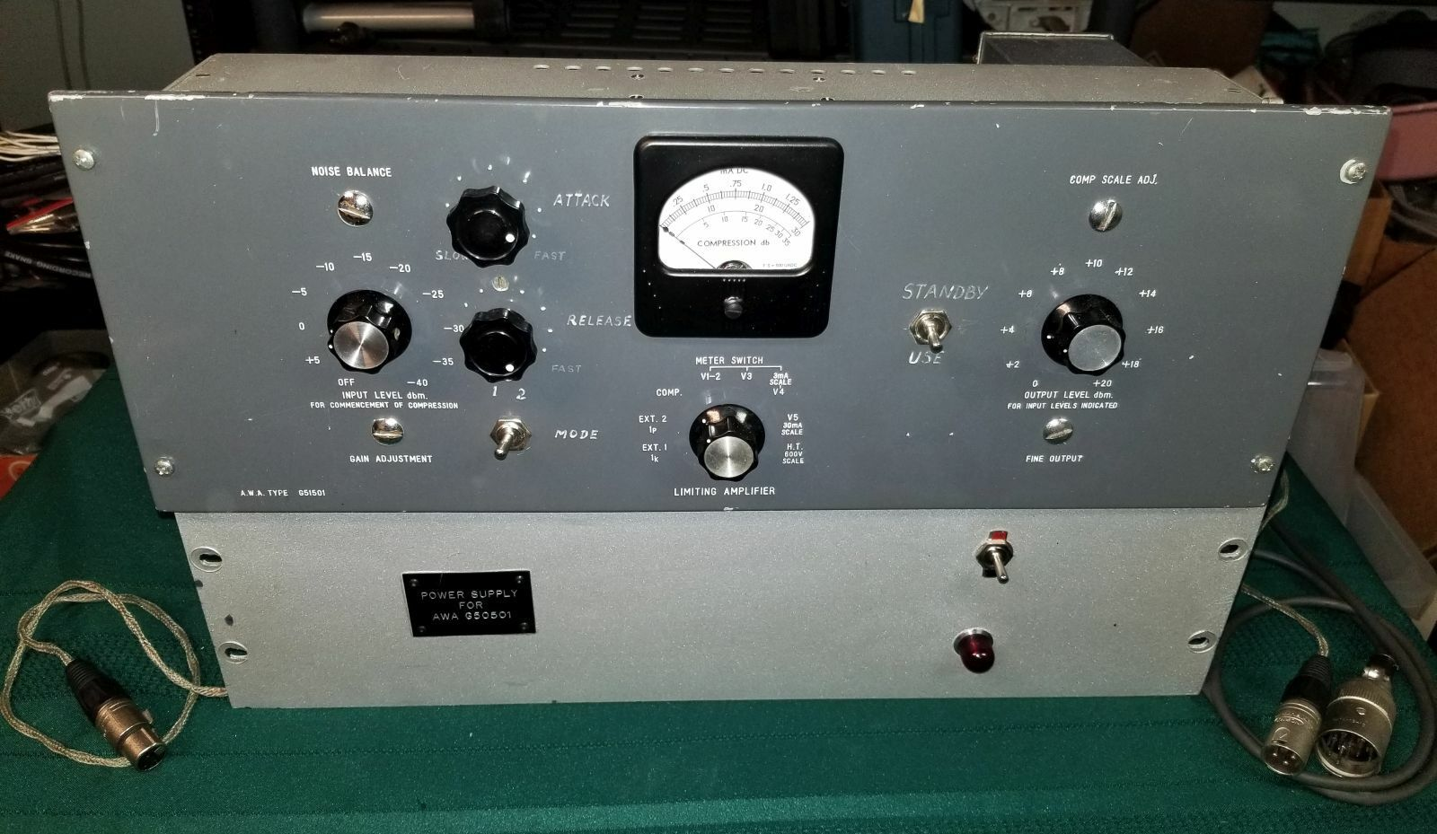 AWA G51501 Tube Compressor <BA6A>. Available Now for 7500.00