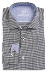 * NWT Bugatchi Trim Fit Check Dress Shirt, NWT, 16.5 34/35