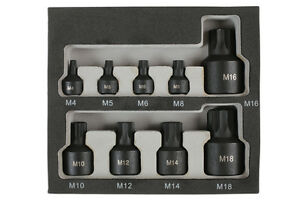 Low-Profile-kurze-Impact-Spline-Bit-Set-m4-m14-1-4-034-3-8-034-1-2-034-Antrieb