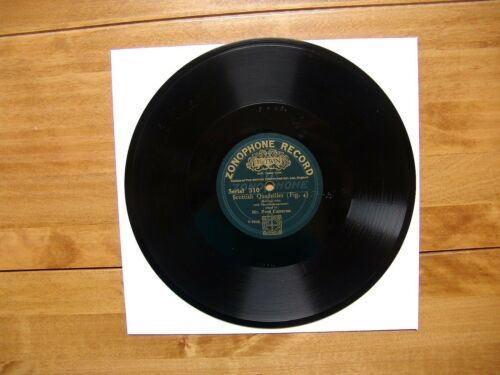 "10"" 78 Cameron, Fred ""Scottish Quadrilles Fig. 4, Fig. 5"" ZONOPHONE RECORD 310"