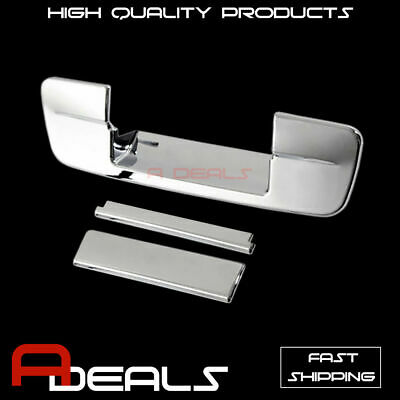For 09 10 11 12 13 14 15 16 17 18 Dodge Ram 1500 Chrome 2 Handle Tailgate cover