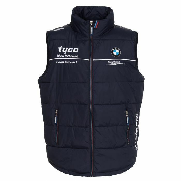 2018 Official Tyco BMW Team Zip Up Body Warmer - 18TB-BW