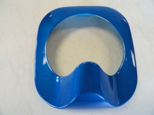 "LIVORSI BLUE PLASTIC COMPASS COVER BEZEL 4 3//4/"" X 5/"" MARINE BOAT"