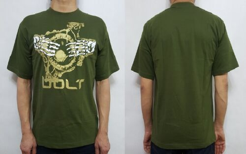 Bleubolt gothique dragon rock metal biker crâne punk goth t shirt top tee