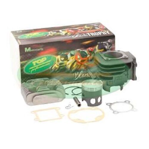 GRUPPO TERMICO CILINDRO TOP BLACH TROPHY 70cc PER MBK BOOSTER ROCKET 50 2T