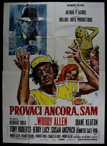 M181 Manifesto 4F Probieren Sie Es Noch Sam, Woody Allen, Ross, Keaton,
