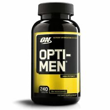 Optimum OPTI-MEN Multi-Vitamin Vitamin D Amino Acids B-Complex 240 tablets