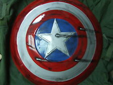 captain america avengers full size cosplay prop fiberglass repro shield