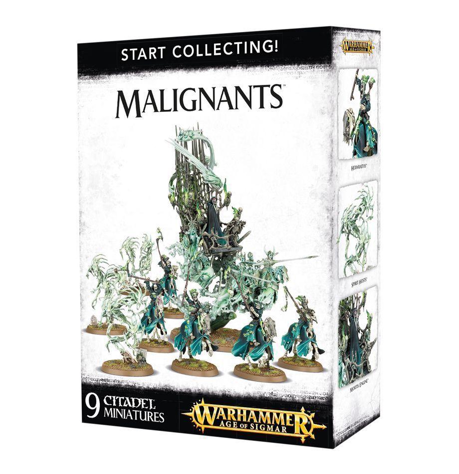 Warhammer fantasy   alter sigmar untoten sammeln malignants