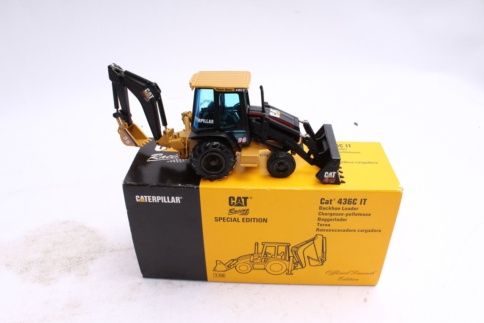 NZG 430 Caterpillar 436 C IT Baggerlader 96 1 50
