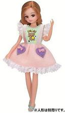 Takara Tomy  Licca doll Rica-chan LW-01 cotton candy cloth