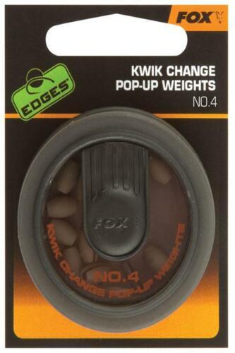 FOX Edges Kwik Change Pop Up Weights No4
