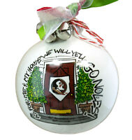 As For Me And My House Florida State Seminoles Ncaa Holiday Ornament Go Noles